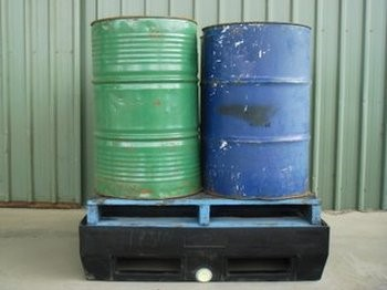 4 drum spill containment pallet bund